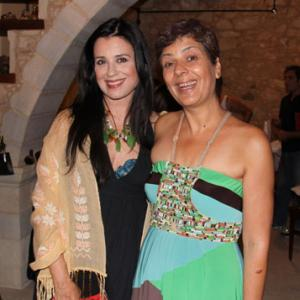 Eva with Mrs.Maria Tsompanaki